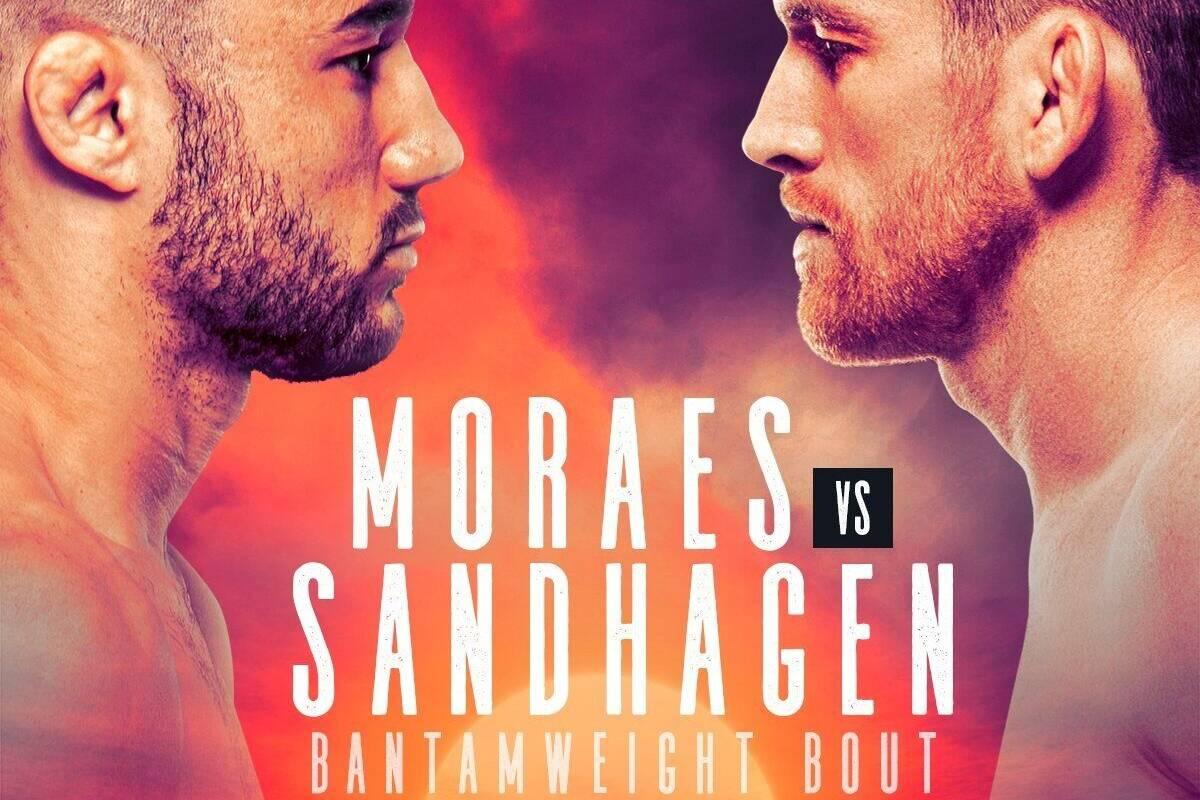 Moraes vs Sandhagen