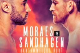 New Match Preview: UFC Fight Night: Moraes vs Sandhagen - 10/10/2020