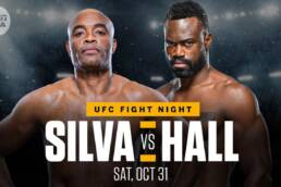 New Match Preview: UFC Fight Night - Hall vs Silva -10/31/2020