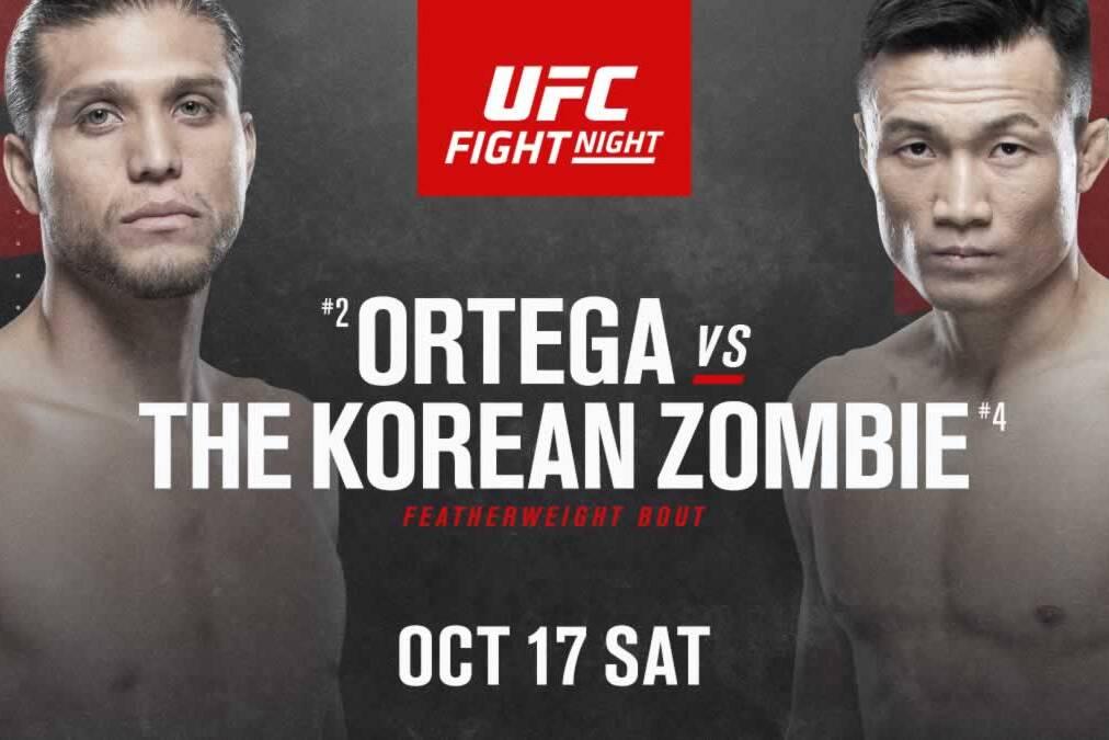 Ortega vs The Korean Zombie