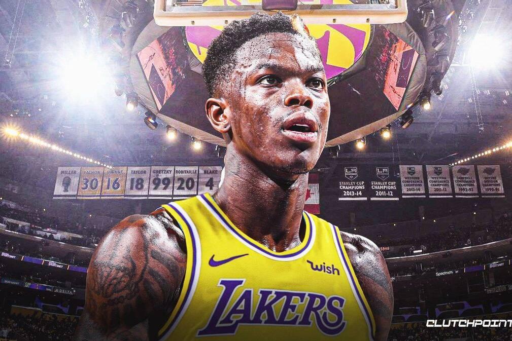 Lakers offseason Dennis Schroder  Dennis Schroder  Dennis Schroder