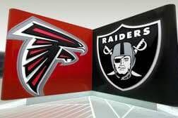 Raiders vs Falcons