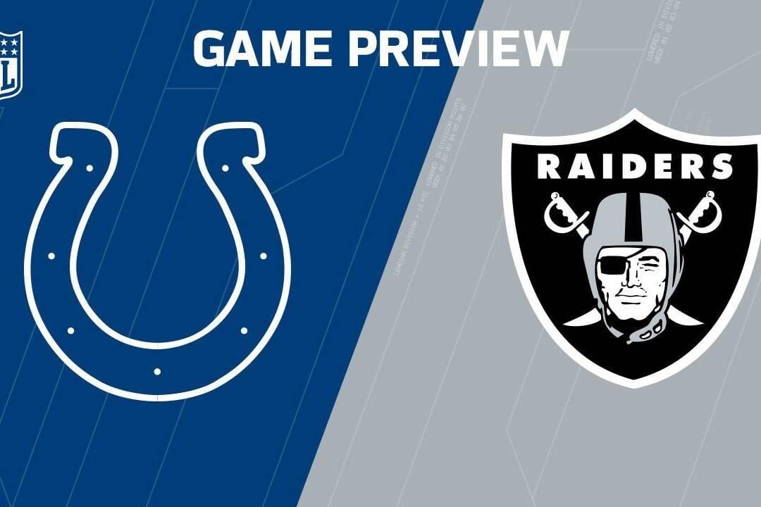 Raiders vs Colts