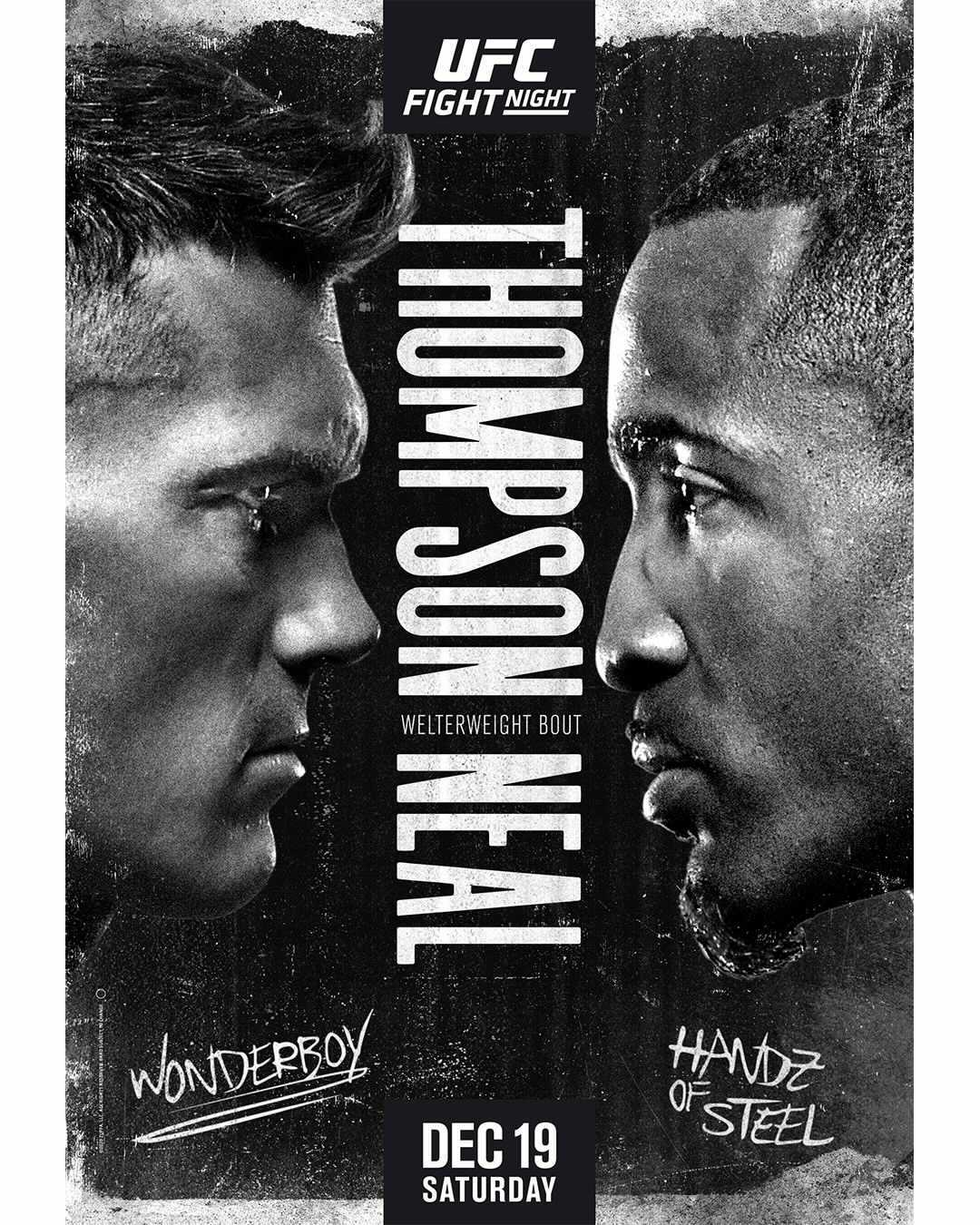 New Match Preview Ufc Fight Night Thompson Vs Neal 12 19 20 Franchise Sports Media