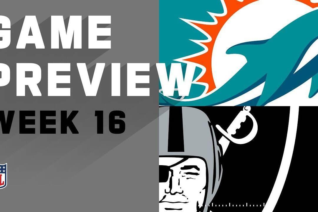 Raiders vs Dolphins