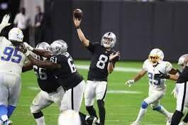 Raiders vs Chargers