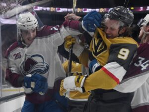 Golden Knights vs Avalanche