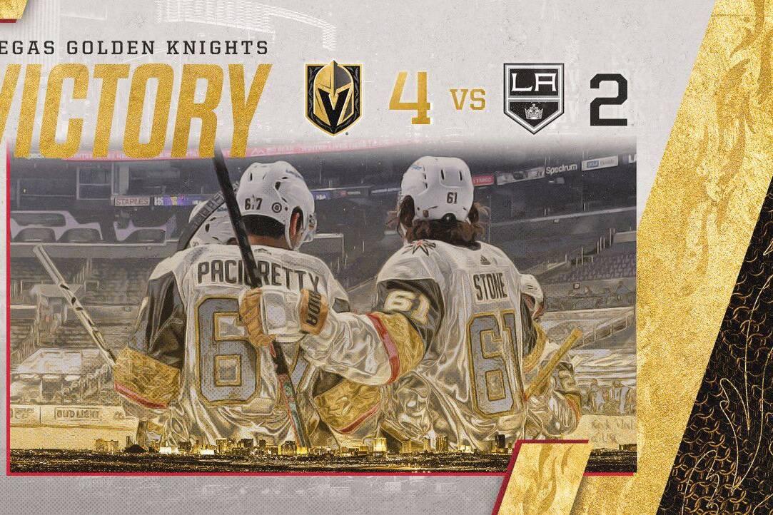 Golden Knights vs Kings