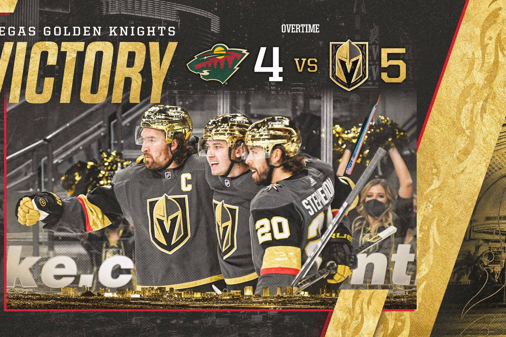 Golden Knights vs Wild
