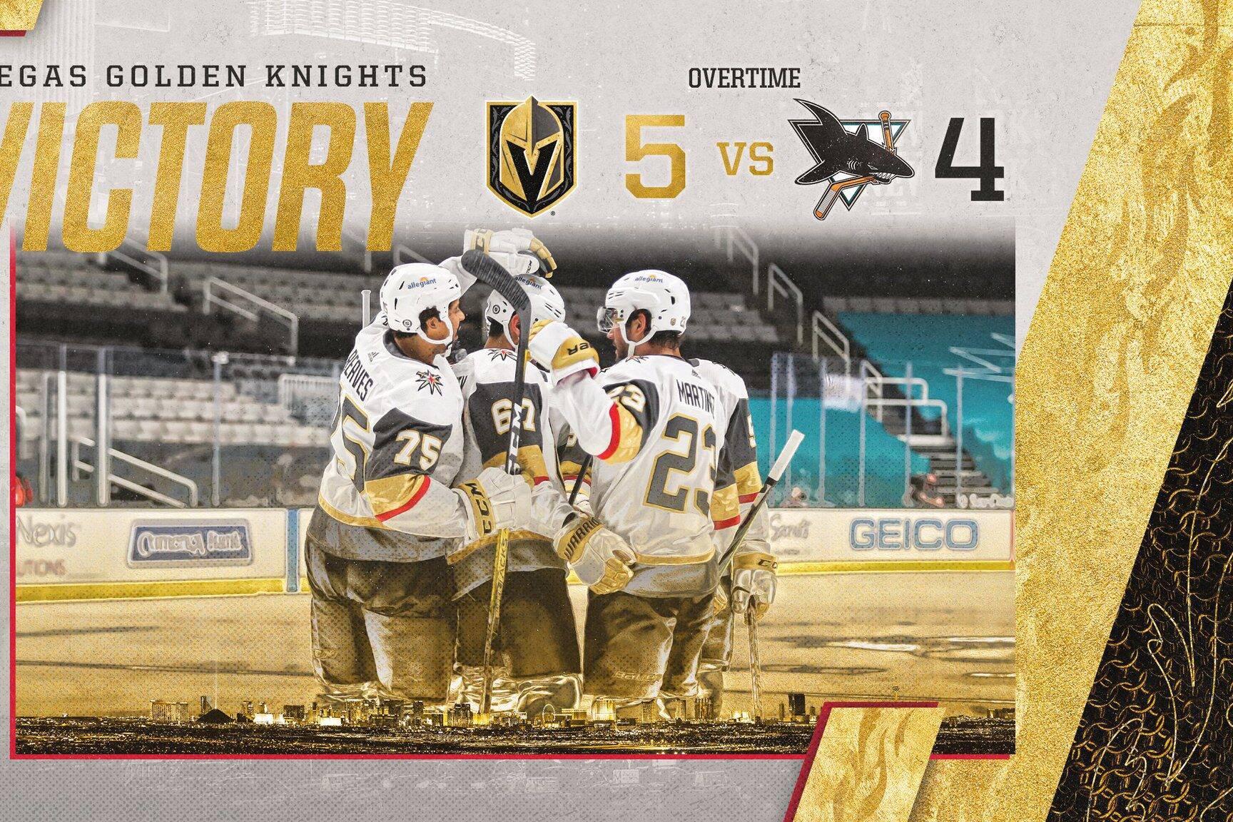 Golden Knights vs Sharks
