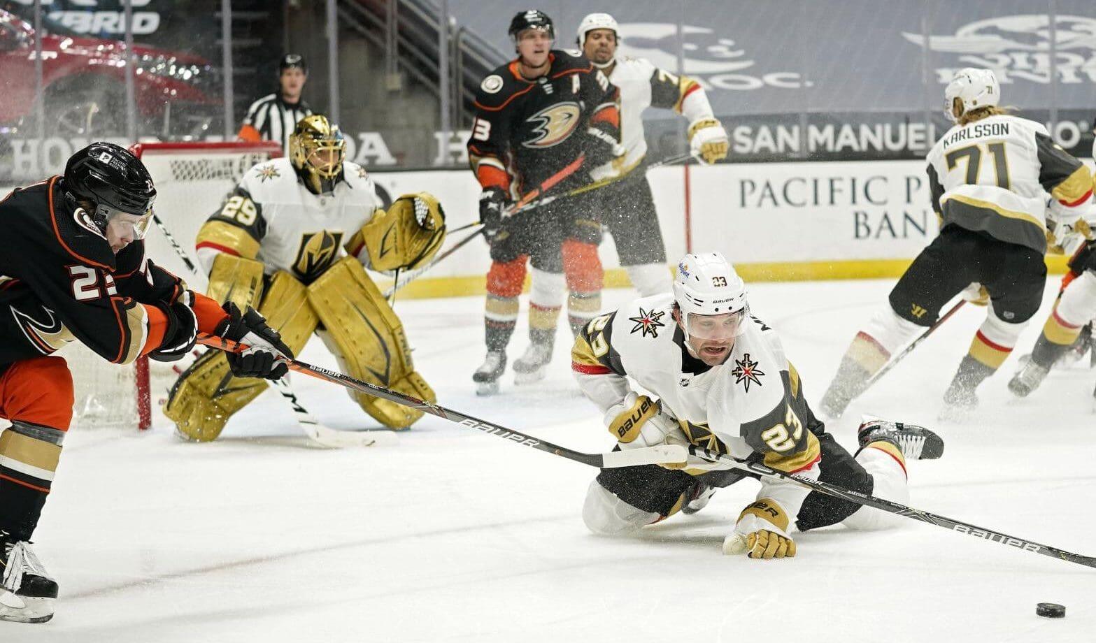 Golden Knights vs Ducks