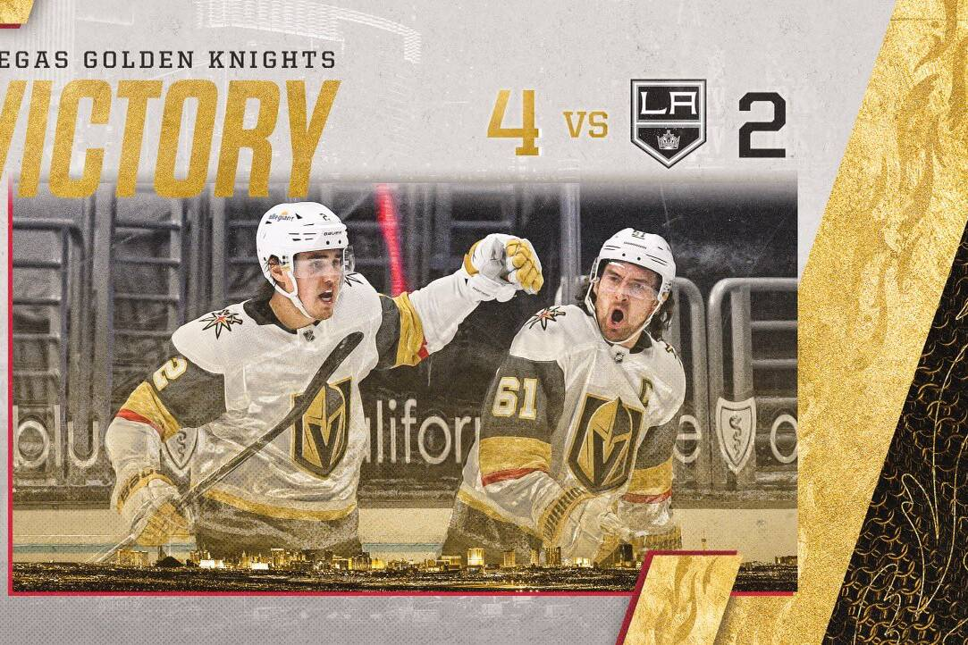 Golden Knights vs Kings
