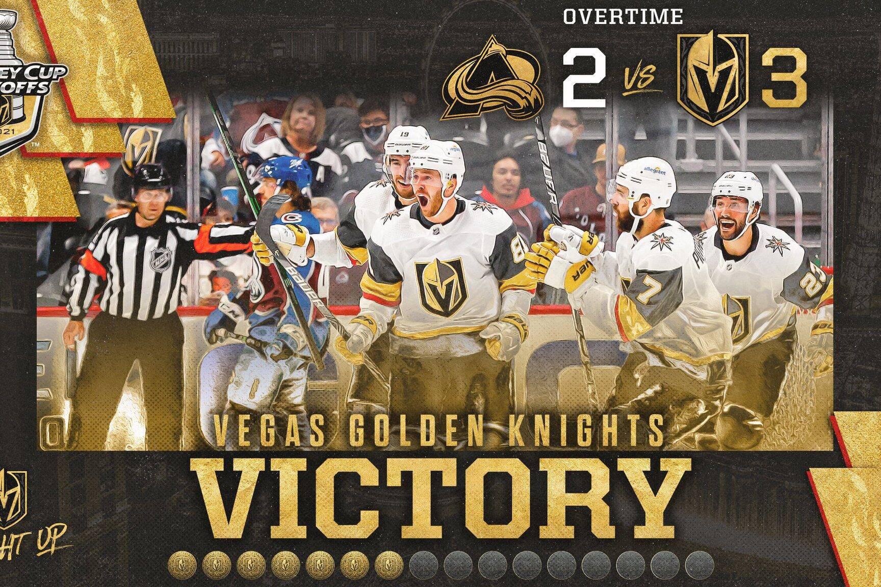 Golden Knights vs Avalanche