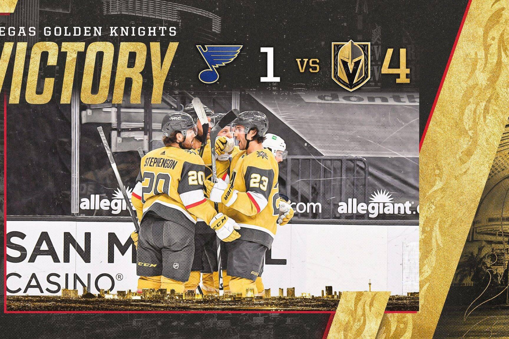 Golden Knights vs Blues Highlights