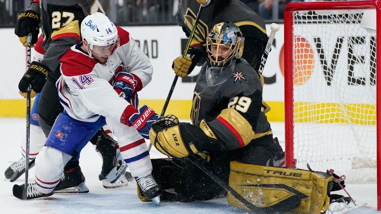 Golden Knights vs Canadiens