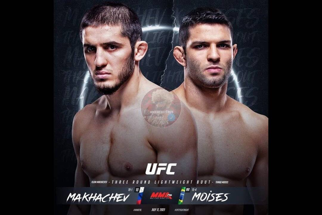 Makhachev vs Moisés